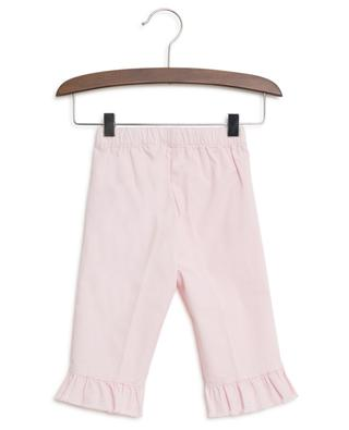 Ruffled cotton trousers IL GUFO