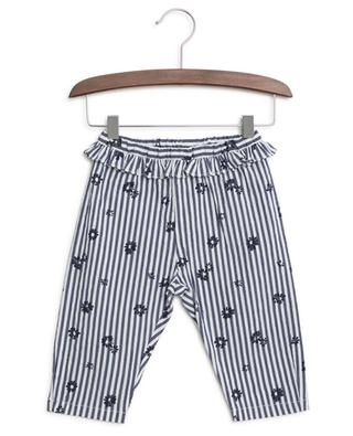 Pantalon rayé en coton mélangé IL GUFO