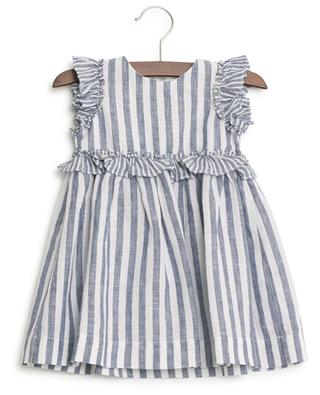 Striped linen dress IL GUFO
