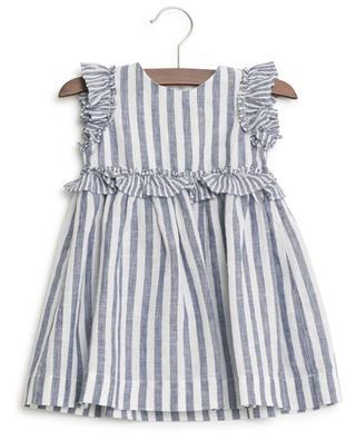 Gestreiftes Kleid aus Leinen IL GUFO
