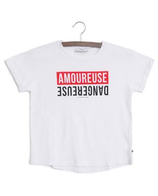 T-shirt à message EmyGi LITTLE CERISE