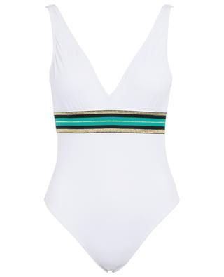 Badeanzug mit V-Ausschnitt Cally B Splendide KIWI