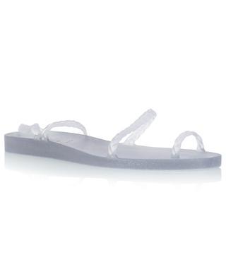 Sandales en caoutchouc pailleté Eleftheria ANCIENT GREEK SANDALS