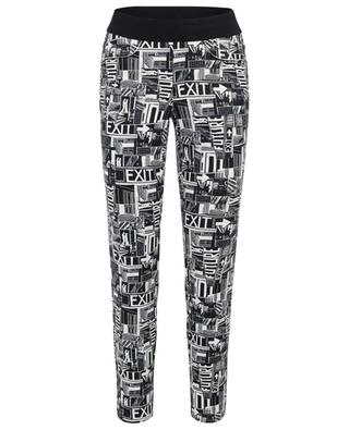 Pantalon stretch imprimé BD Lilibeth CAMBIO