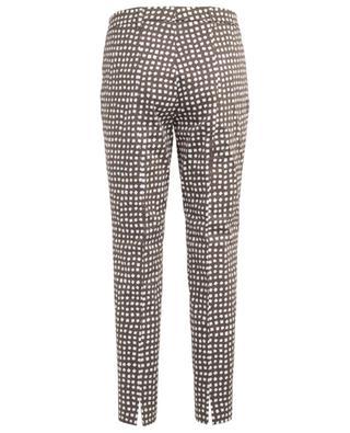 Pantalon raccourci motif carreaux River CAMBIO