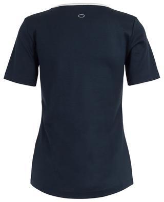T-shirt à col maillot détail argenté FRATELLI M