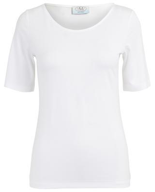 T-shirt ajusté en viscose FRATELLI M