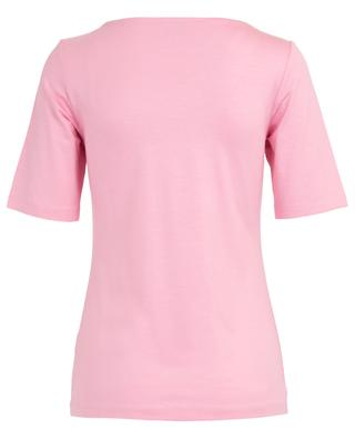 Slim fitting viscose T-shirt FRATELLI M