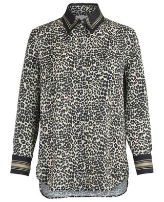 Crepe leopard printed shirt EQUIPMENT