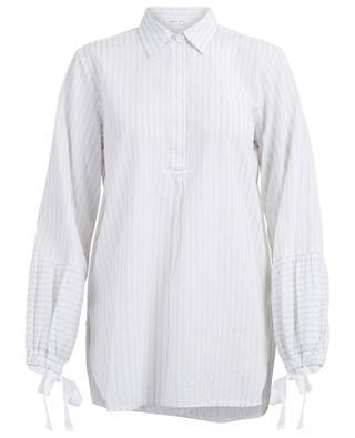 Risa stripped cotton blouse HANA SAN