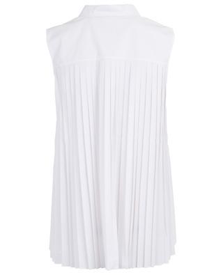 Nikki sleeveless shirt with pleated back HANA SAN