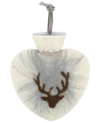 Wärmflasche mit Hülle aus Merinowolle DOROTHEE LEHNEN