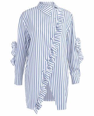 Pontevedera asymmetric striped shirt VIVETTA