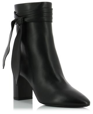 Lou 75 bow ankle boots SAINT LAURENT PARIS