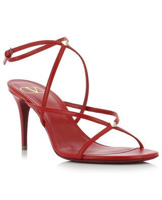 V Rockstud crossed strap sandals VALENTINO
