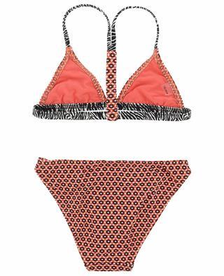 Audrey Graphic printed bikini KIWI