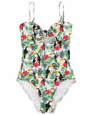 Luna Toucano one-piece swimsuit KIWI