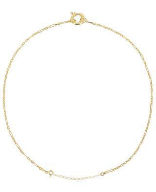 Goldene Halskette Antique Lock MAISON IREM