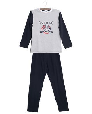 Jersey-Pyjama mit Print Yachting STORY LORIS