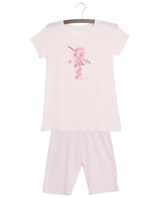 Flower adorned modal summer pyjama STORY LORIS