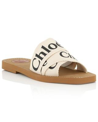 Woody canvas slides CHLOE