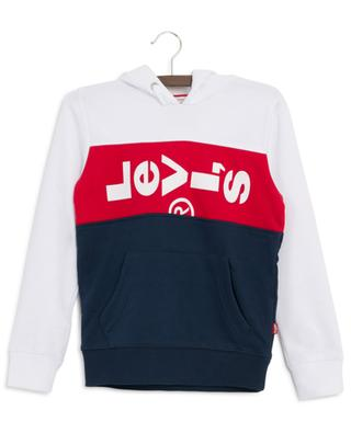 Sweat-shirt à capuche imprimé logo Blocky LEVI'S KIDS