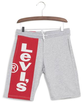 Slim-Fit-Sweat-Bermudashorts mit Logoprint LEVI'S KIDS