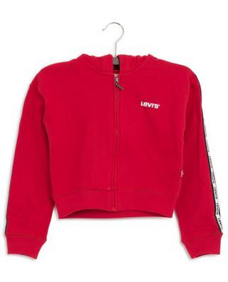 Sweat-shirt zippé raccourci logo Bedoni LEVI'S KIDS