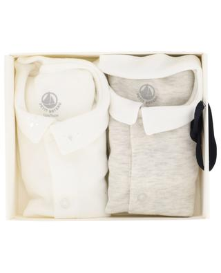 Set of 2 short-sleeved bodysuits PETIT BATEAU