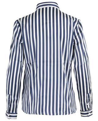 Gestreiftes Hemd aus Seidenmix CAMICETTASNOB