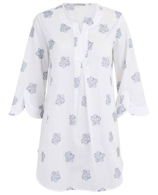 Embroidered cotton tunic CAMICETTASNOB