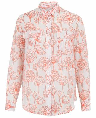 Cotton and silk floral shirt CAMICETTASNOB