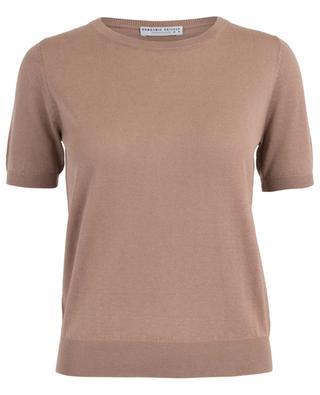 Kurzarm-Pullover aus Seide und Kaschmir BONGENIE GRIEDER