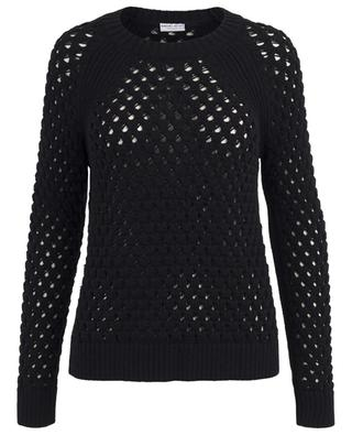 Openwork cotton knit jumper BONGENIE GRIEDER