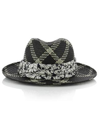 Panama-Hut mit Karomotiv Marianne INVERNI FIRENZE