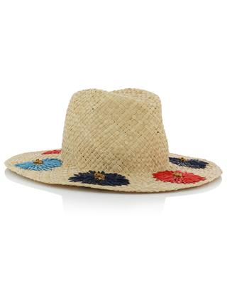 Florence embroidered Panama hat INVERNI FIRENZE