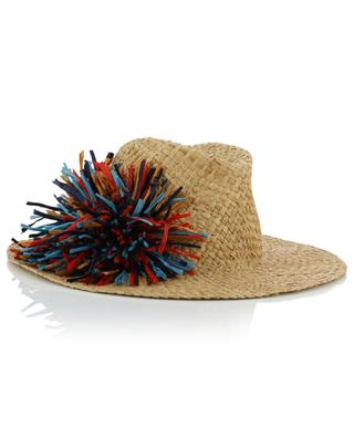 Florence Panama hat with flower INVERNI FIRENZE