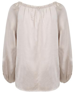 Fliessende Bluse mit Puffärmeln HERZEN'S ANGELEHEIT