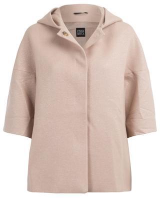 Manteau à capuche en laine CINZIA ROCCA