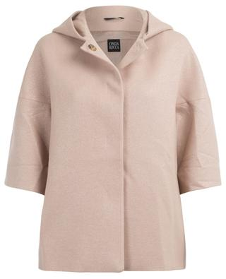 Wool hooded coat CINZIA ROCCA
