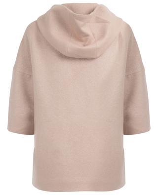 Mantel aus Wolle mit Kapuze CINZIA ROCCA