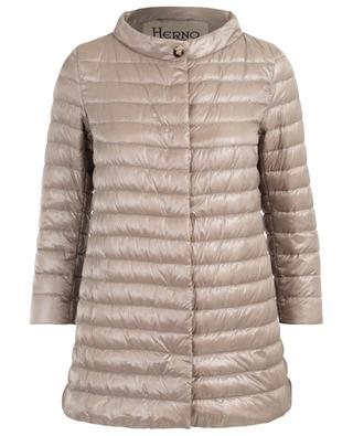 Rossella Iconico A-line lightweight down jacket HERNO