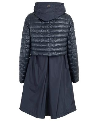 Layer look lightweight down jacket HERNO