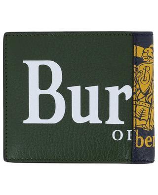 Porte-monnaie en cuir grainé International Bifold BURBERRY