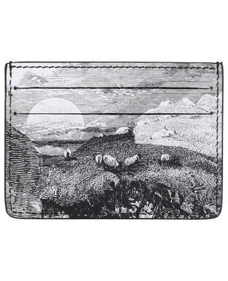 Sandon Dreamscape printed card holder BURBERRY