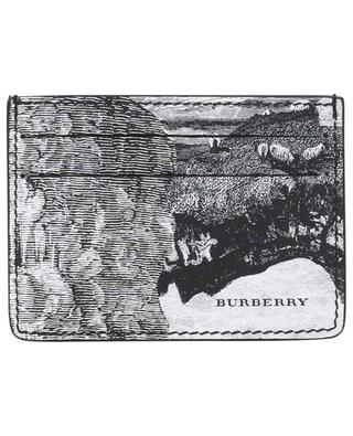 Sandon Dreamscape printed card holder BURBERRY