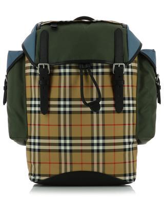 Rucksack aus Leder und Stoff BURBERRY