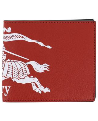 Brieftasche aus Leder Crest Print BURBERRY
