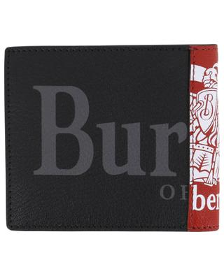 Crest Print leather wallet BURBERRY