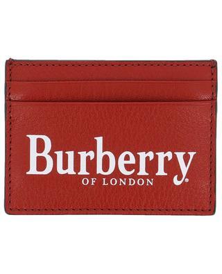 ... Porte-cartes en cuir grainé BURBERRY 1d408649975